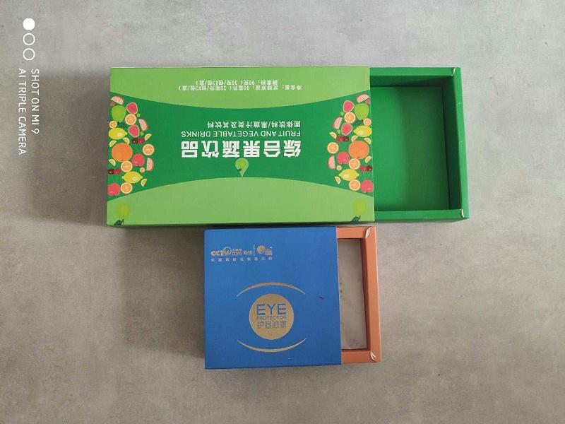 纸质包装盒-白卡盒