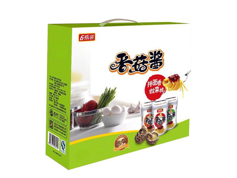 香菇酱包装盒