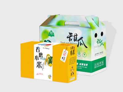 农副产品包装盒定制