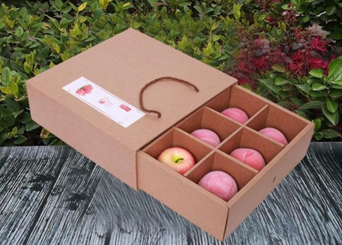 定制桃包装箱|桃子礼盒定做