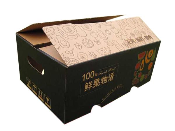 鲜果物语水果礼盒,纸盒包装制作
