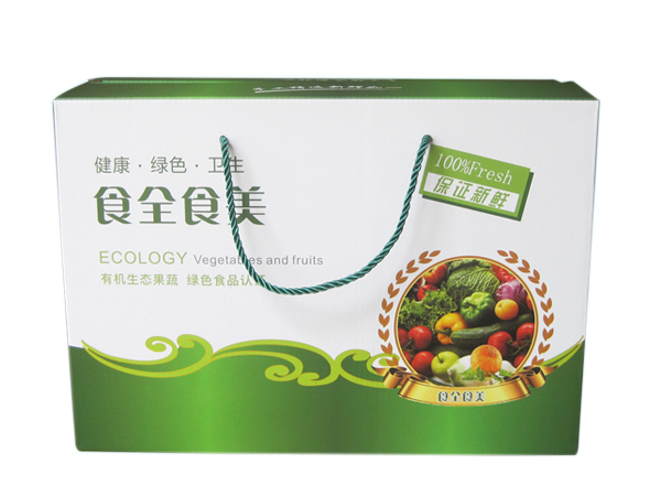 手提蔬菜礼盒