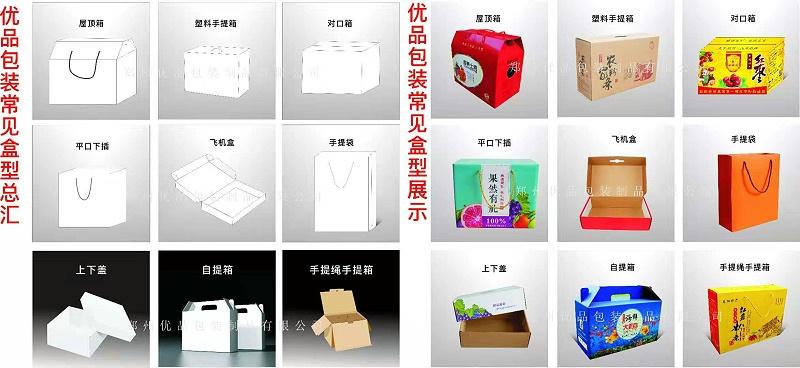 包装纸盒定制盒型设计